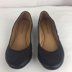 Lucky Brand Shoes - Lucky Brand black leather flats- 9.5